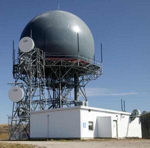 FAA Radar on top of the mountain