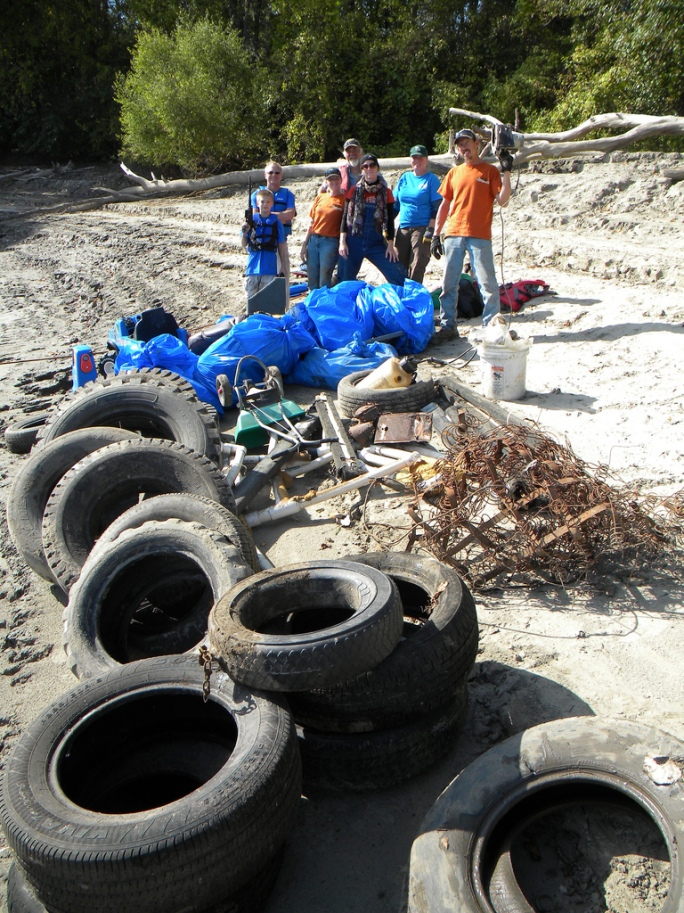 St. Charles Clean-up in 2011