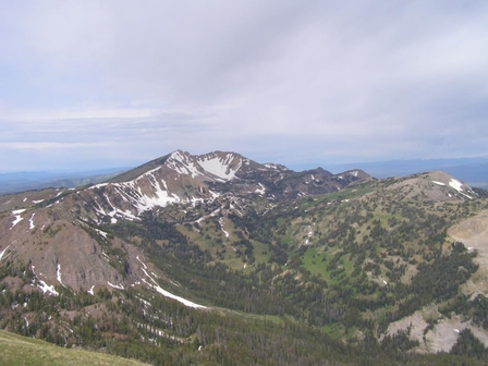 Summit of Sawtelle Peak