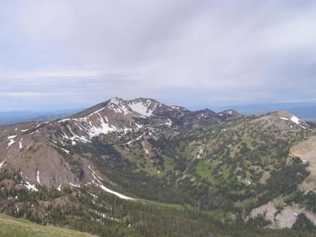 Summit of Sawtelle Peak