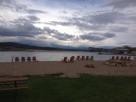 Beautiful spot on the lake. Can you hear Jimmy Buffet singing?