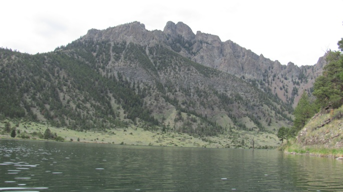 Once back on the river, I continued to be amazed by the rock cliffs and mountains.