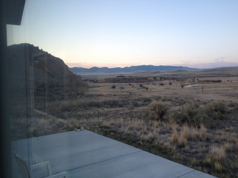 "View of Beaverhead Rock from Robert's ""cabin"""