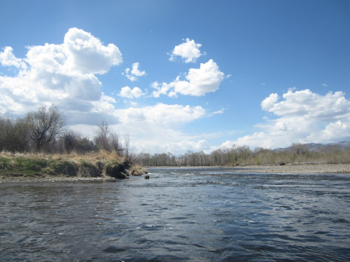 Heading down the beautiful Jefferson River