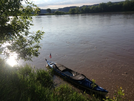 It rained and rained and rained. The rain stops eventually, and now it was time to move on down the river. Fort Benton is a town that will warm your heart, and get you interested in the Missouri River and its connection to our country's history and culture.