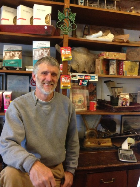 Jim is one of the proprietors of Virgelle Mercantille and Antique and Canoe Service, along with Don/
