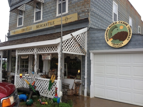 The Virgelle Mercantile. They also have an extensive antique store and run river shuttle and catering.