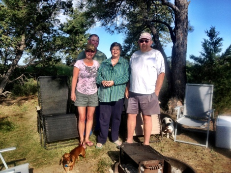L-R: Tammy, Bill, Carol and Matt, I believe they are all from Shelby, MT.