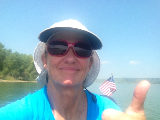 Yep, paddle through to the Gulf. It just makes sense.