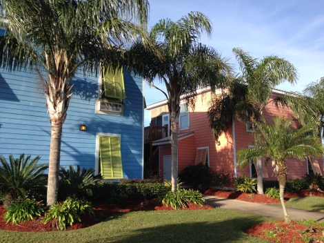The Lighthouse Lodge and Villas in Venice, LA. We give the villas five bright and golden stars. Loved it!