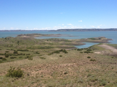 Fort Peck Lake-Patience is a virtue, difficult to master at times, but necessary. Great hiking areas help.