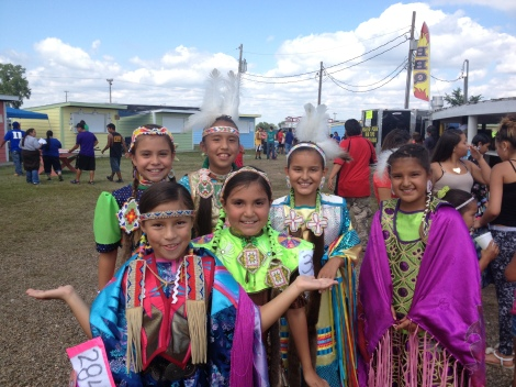 My favorite photo of the journey, these American Indian girls smiled so big for the photo. They appear to be near the age I will be teaching this year, which is 6th grade.