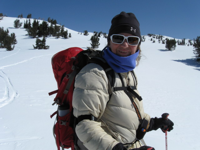 After a 30-year absence I was delighted to be ski mountaineering again.