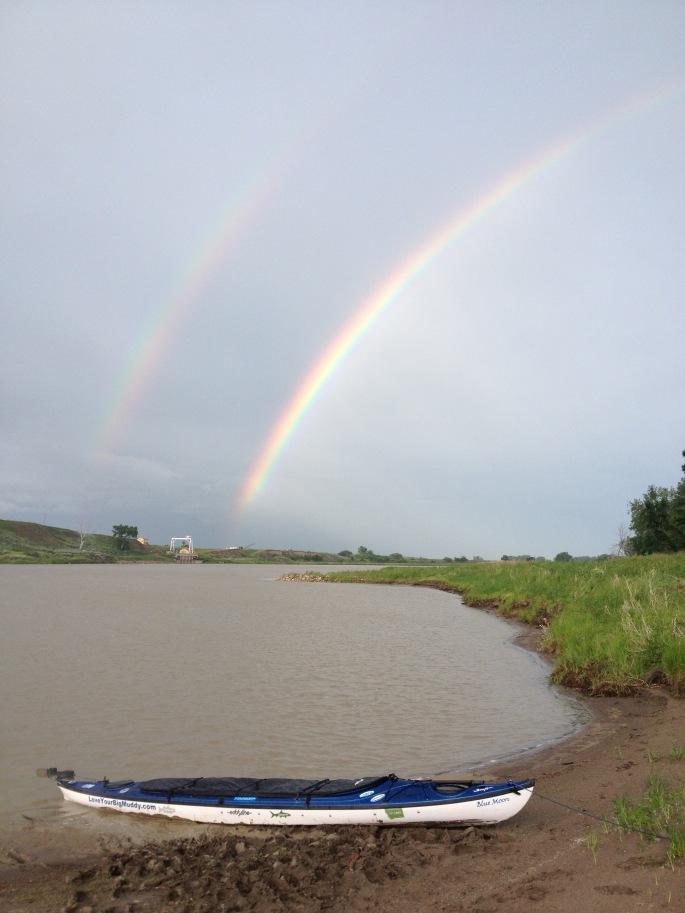 Nearing the Montana-North Dakota border